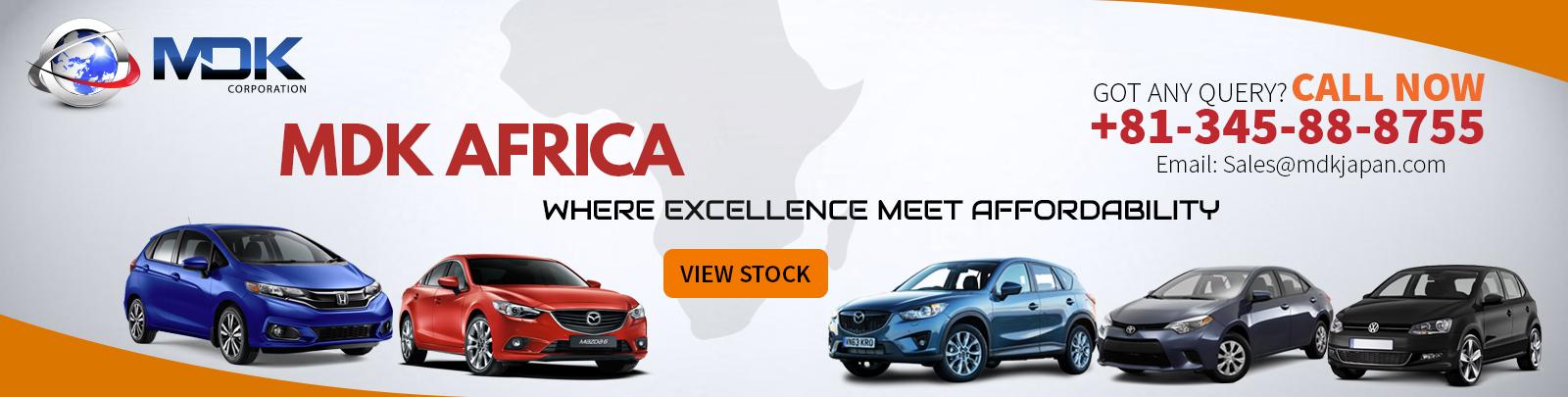 Import Japnese Car in Africa